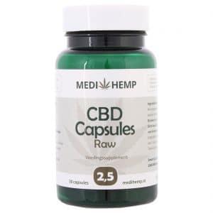 Product image of Medihemp CBD Capsules 2,5% (12,5mg)
