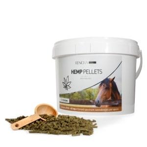 Cannabinoiden Pferdefutter, kein THC aber reich an CBD